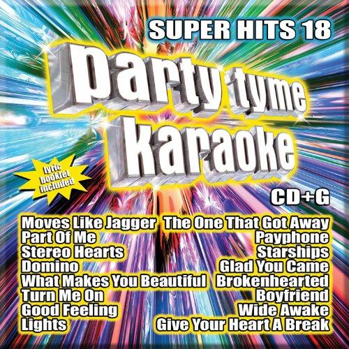 Party Tyme Karaoke - Super Hits 18 [16-song (Pop Hits Karaoke)