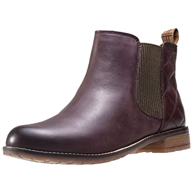 e845d40e7b8 Womens Barbour Abigail Leather Winter Casual Low Heel Smart Ankle Boots