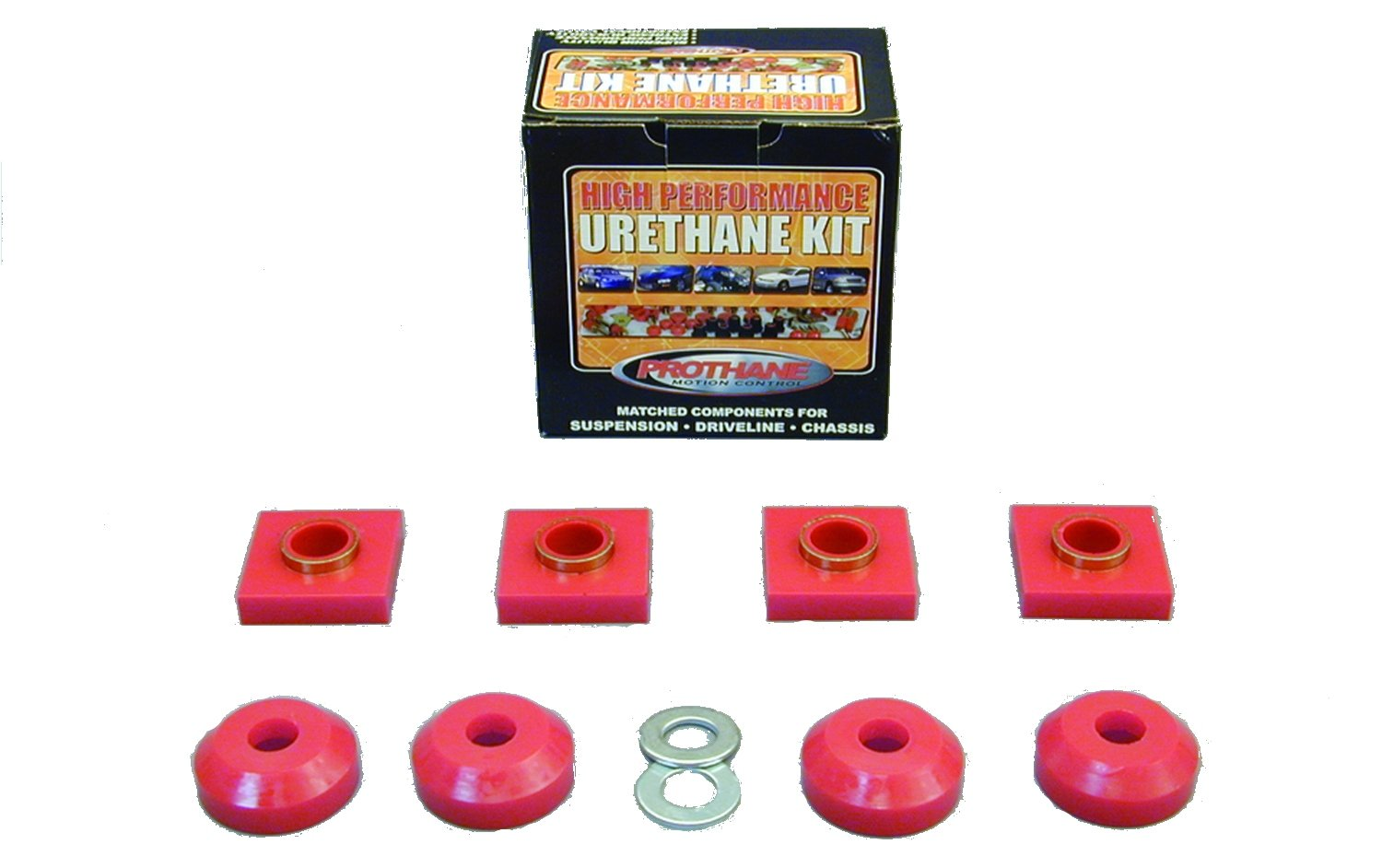 Prothane 6-1601 Red Transfer Case Mount Kit by Prothane