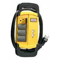 Coleman Cable 04644 4-Outlet GFCI Power Strip 15-Amp