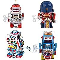 Baoblaze Robot de Juguete Mecánico Antiguo Robot
