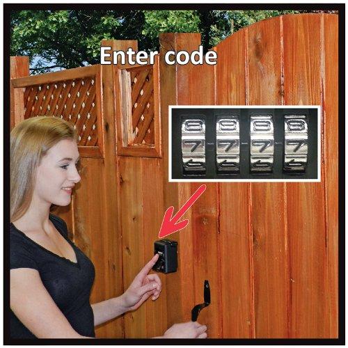 Fence Door Lock Amp Yardlock Keyless Wood Gate Combination