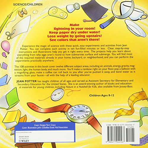 Science in Seconds for Kids: Over 100 Experiments You Can Do in Ten Minutes or Less by Zonderkidz (Image #1)