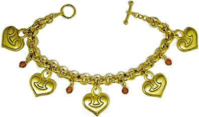 Amazon com: ILANET Museum Reproductions Greek 5-heart Charms