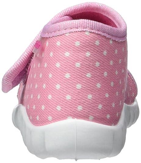 FischerFlexi - Patucos y Zapatillas de Estar por casa Bebé-Niños, Color Rosa, Talla 23: Amazon.es: Zapatos y complementos