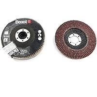 Disco de láminas circonio 115mm. Grano 100 (3