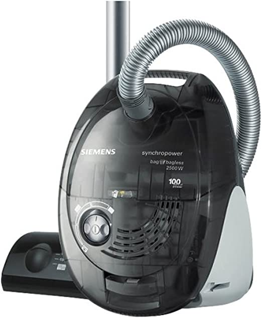 Siemens Vs06G2510 - Aspirador dual, 2500W, 4 L, color negro: Amazon.es: Hogar