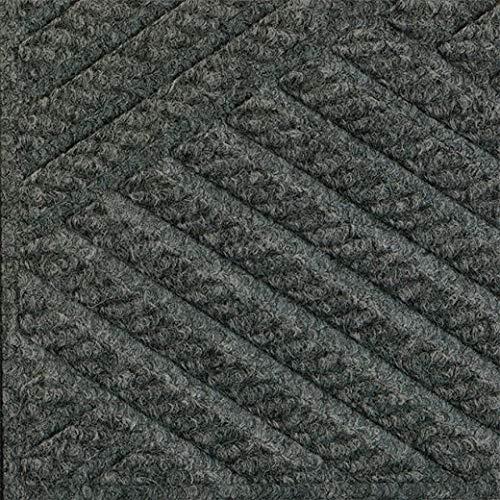 - Waterhog Eco Elite Fashion Fabric Border Scraper/Wiper Mat, Gray Ash, 3' x 5' (2 Units)