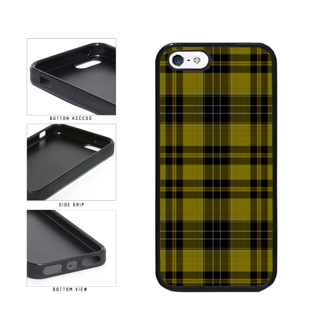 Amazon.com  BleuReign(TM) Yellow Buffalo Plaid Pattern TPU RUBBER Phone  Case Back Cover Apple iPhone 5 5s and iPhone SE  Cell Phones   Accessories 64a66b198d003