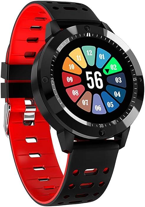 Reloj Inteligente Impermeable Reloj Deportivo Bluetooth Monitor de Ritmo cardíaco para Android iOS Reloj para Hombre