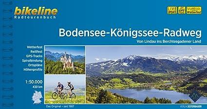 Bikeline Bodensee-Königssee-Radweg Radtourenbuch