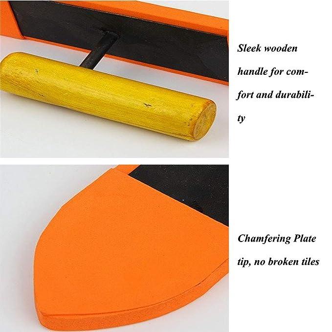 Llana de flotador de esponja 9 pulgadas con mango de madera, cemento, herramientas de albañilería: Amazon.es: Bricolaje y herramientas