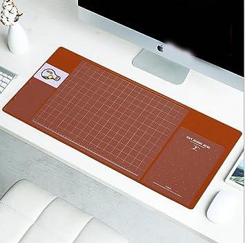 LOVE STUDIO,Escritorio Mats Multi-función de escritura Ordenador portátil de computadora de escritorio grande 2017 Nuevo Almacenamiento Pad 70*33cm (Brown): ...