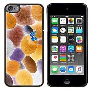 """Be-Star Único Patrón Plástico Duro Fundas Cover Cubre Hard Case Cover Para iPod Touch 6 ( Invertido mariposa"""" )"""