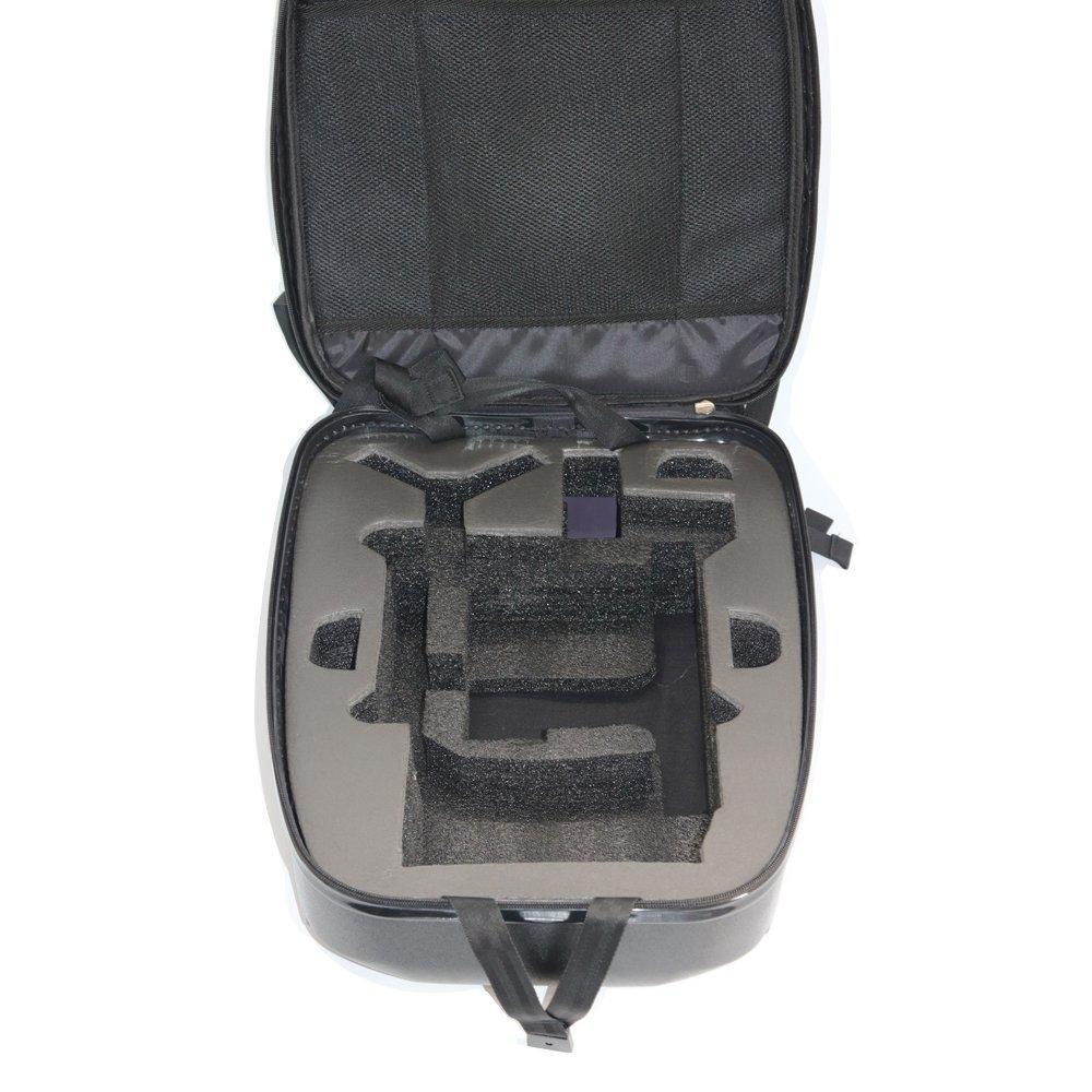kismaple duro profesional mochila para Parrot Bebop 2 FPV Drone bolsa Carcasa rígida mochila transporte funda de transporte caja de almacenamiento: ...