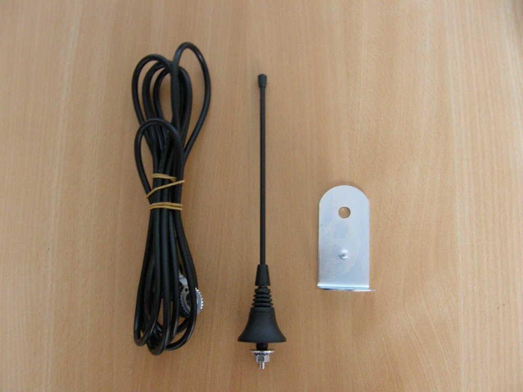 433/mhz-868mhz 50/Ohm con 2,5/m cable RG58 Gama: hasta 250/m. V2/ANS433/Top Gama al aire libre Antena//Antena para receptores de automatizaci/ón de puerta