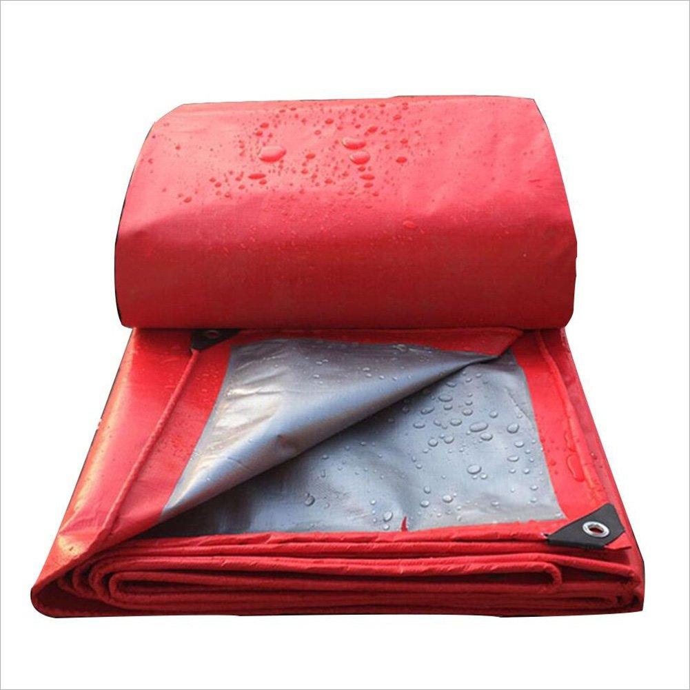 AJZXHE Plane, LKW-Sonnenschutz staubdicht Markisentuch, doppelseitige feuchtigkeitsdichten Fracht Staub Tuch, hohe Temperatur und Anti-Aging, Plane