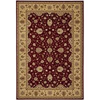 Safavieh Majesty Collection MAJ4782-4015 Traditional Oriental Red and Camel Area Rug (79 x 99)