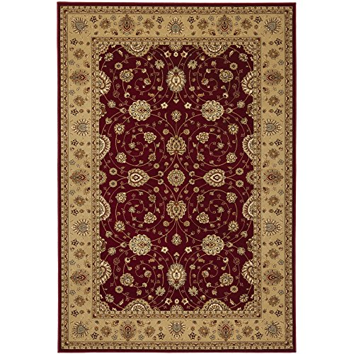 Safavieh Majesty Collection MAJ4782-4015 Traditional Oriental Red and Camel Area Rug (7'9'' x 9'9'') by Safavieh