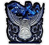 Rescuetees EB Eagle Law Enf Sacr Bey Call Duty Decal - 4 in