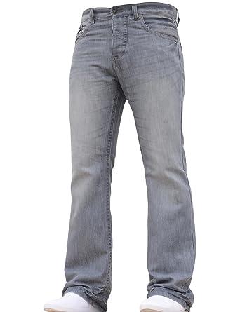 APT - Jeans - Bootcut - Homme gris gris  Amazon.fr  Vêtements et accessoires 2b91670b9b78