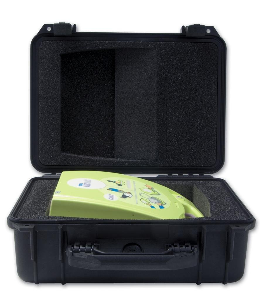 High Impact Structural Copolymer Pelican Defibrillator Case Zoll