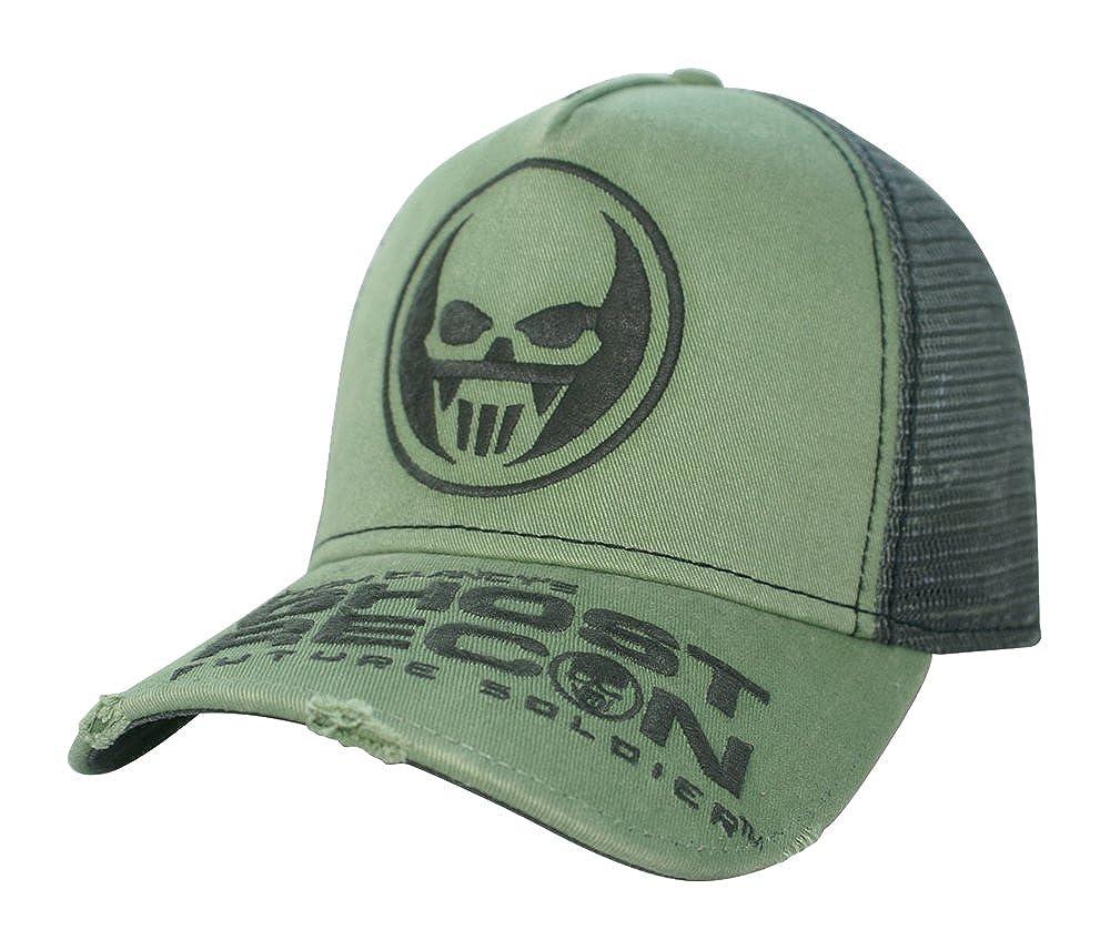 Ghost Recon - Mesh Trucker - Light Green/Grey