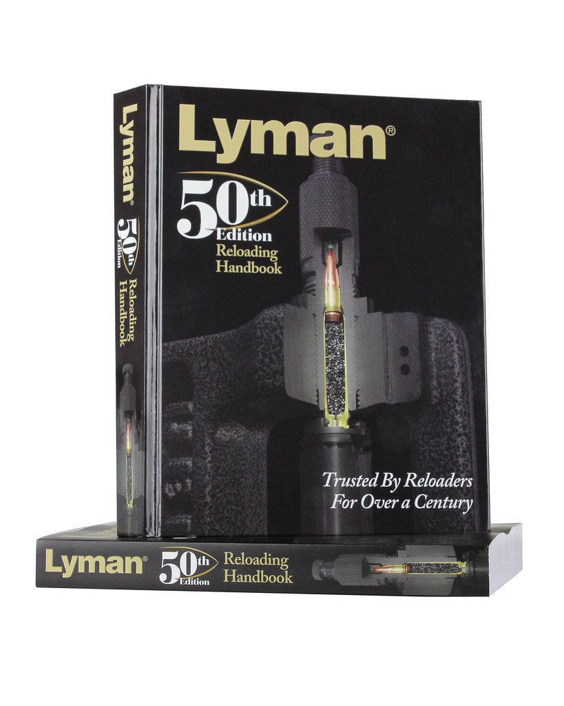 Amazon.com : Lyman 50th Edition Reloading Handbook Hardcover : Sports &  Outdoors