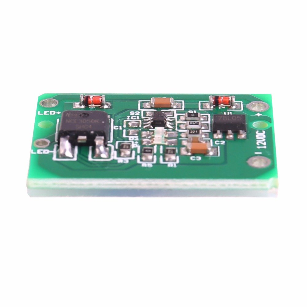 Capacitive Touch Switch Sensor Module Push Button Key Latch Relay Dc Circuit 620v 3a