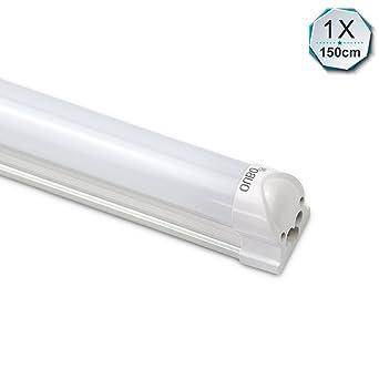 Relativ OUBO LED Leuchtstoffröhre komplett 150CM LED Tube T8 Röhre NX52
