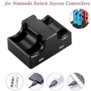 Amazon.com: USHOT IPLAY - Cargador para mando de Nintendo ...