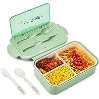Fiambrera Lunch box Bento Compartimento para comida Box, Para niños y adultos Fiambrera 1400 ML / Hermética / Apta para…