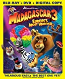Madagascar 3: Europe's Most Wanted (Blu-ray/DVD Combo + Digital Copy)