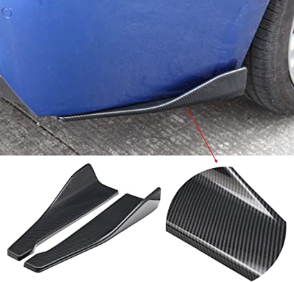 "15/"" Rear Bumper Lip Apron Splitter Diffuser Valence Bottom Skirt For   Nissan"