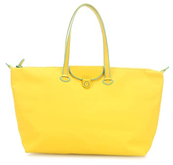 Mandarina Duck Touch Duck Sac weekend jaune 0FtX2