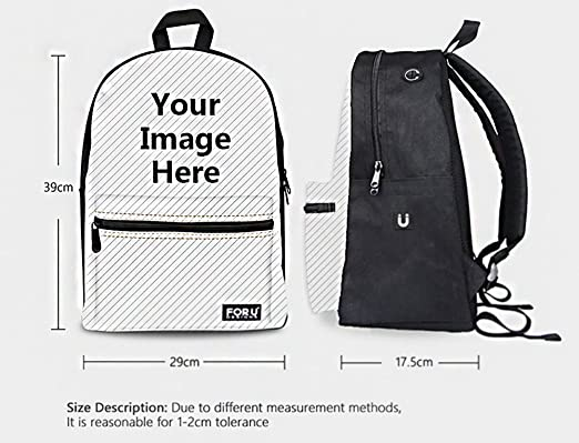 Amazon.com | ThiKin Cute Cat Dog Print Durale Kids Canvas Bookbag Back to School | Kids Backpacks