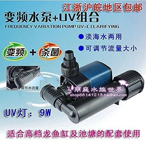Densas sumergible para acuarios, peceras bombas JTP-4000 + serie UV de ultra silencioso de velocidad variable de la bomba sumergible pum de ahorro de ...