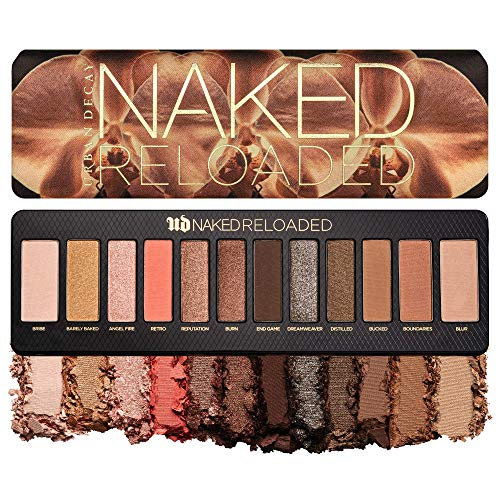 Urban Decay Naked Reloaded Eyeshadow Palette, 12 Universally Flattering Neutral Shades – Ultra-Blendable, Rich Colors…