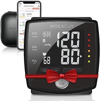 MOCACARE Tensiómetro de muñeca, MOCACuff - Monitoreo de presión ...