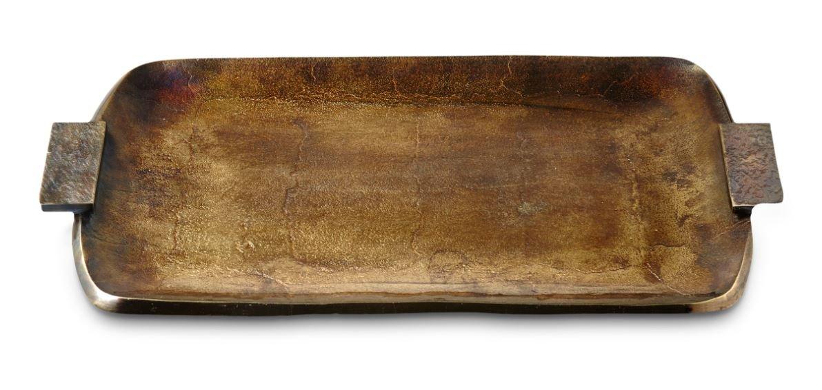 Julia Knight 1330500 Eclipse長方形トレイ、1サイズ、ブロンズ B0775RN2WL