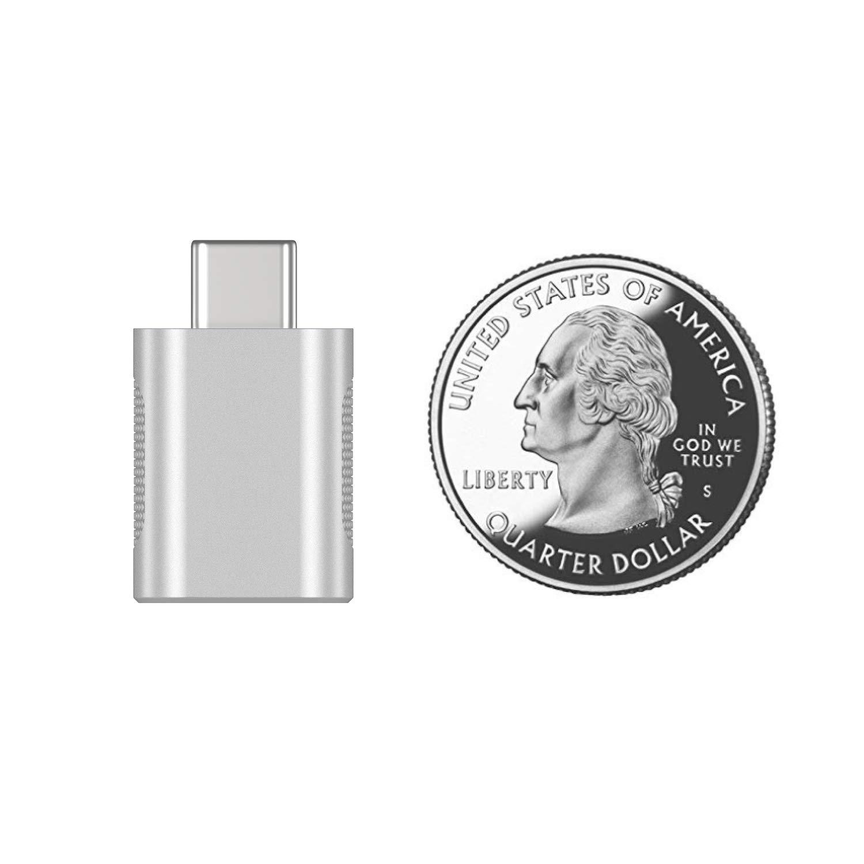 nonda USB C to USB Adapter2 PackUSBC to USB 30 AdapterUSB TypeC to USBThunderbolt 3 to USB Female