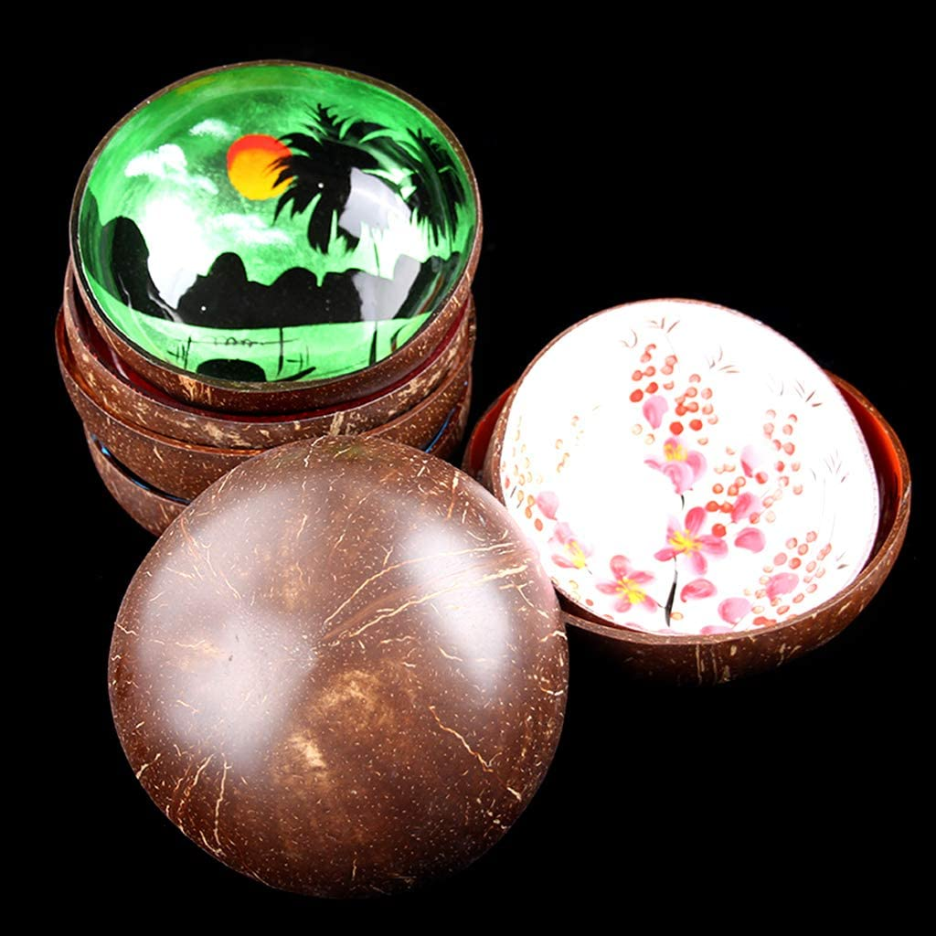 Kokosnussschale 05 Pommee Vietnam Schale