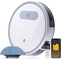 LEFANT Robot Aspirador y Fregasuelos, Succión Fuerte 2000Pa con Sensores Anticaída, Programable App, Autocarga, Aspira…