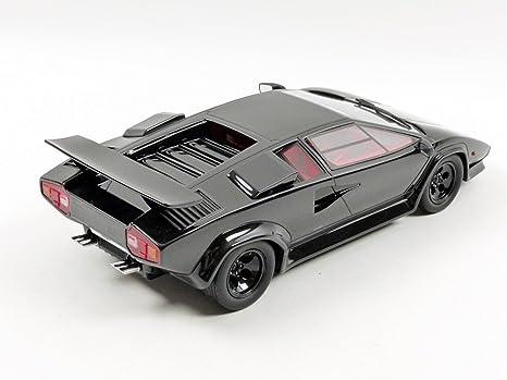 Amazon.com: GT Spirit zm080 – Lamborghini Koenig Countach Twin Turbo – Echelle 1: 18 Special – Black: GT spirit: Toys & Games