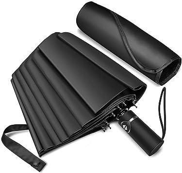 Compact Umbrella Windproof Travel Folding Umbrellas Storm-Proof UP to 87 mp//h,