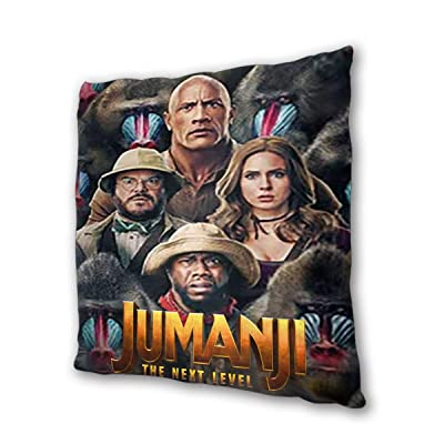 "Jumanji The Next Level Outdoor/Indoor Cushions 18.5""x 18.5"", 2 Pieces: Home & Kitchen"