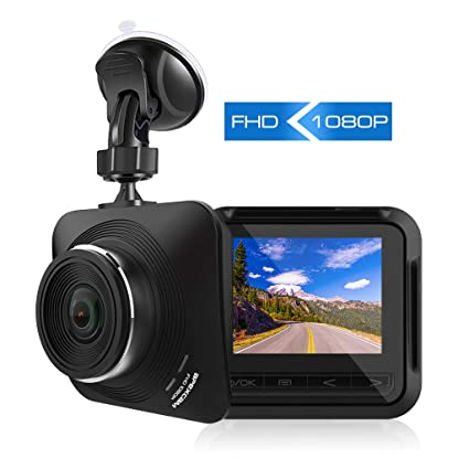 Dash Cam 1080P FHD 4.0 Screen DVR Car Dashboard Camera Recorder Mini dashcam with Night Vision Dual Lens Built in G-Sensor/Loop Recording/Motion Detection/WDR Car Electronics & Accessories