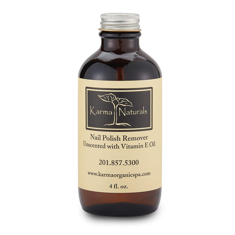 Karma Organic Nail Polish Remover Unscented - 4 fl. oz. by karma organic