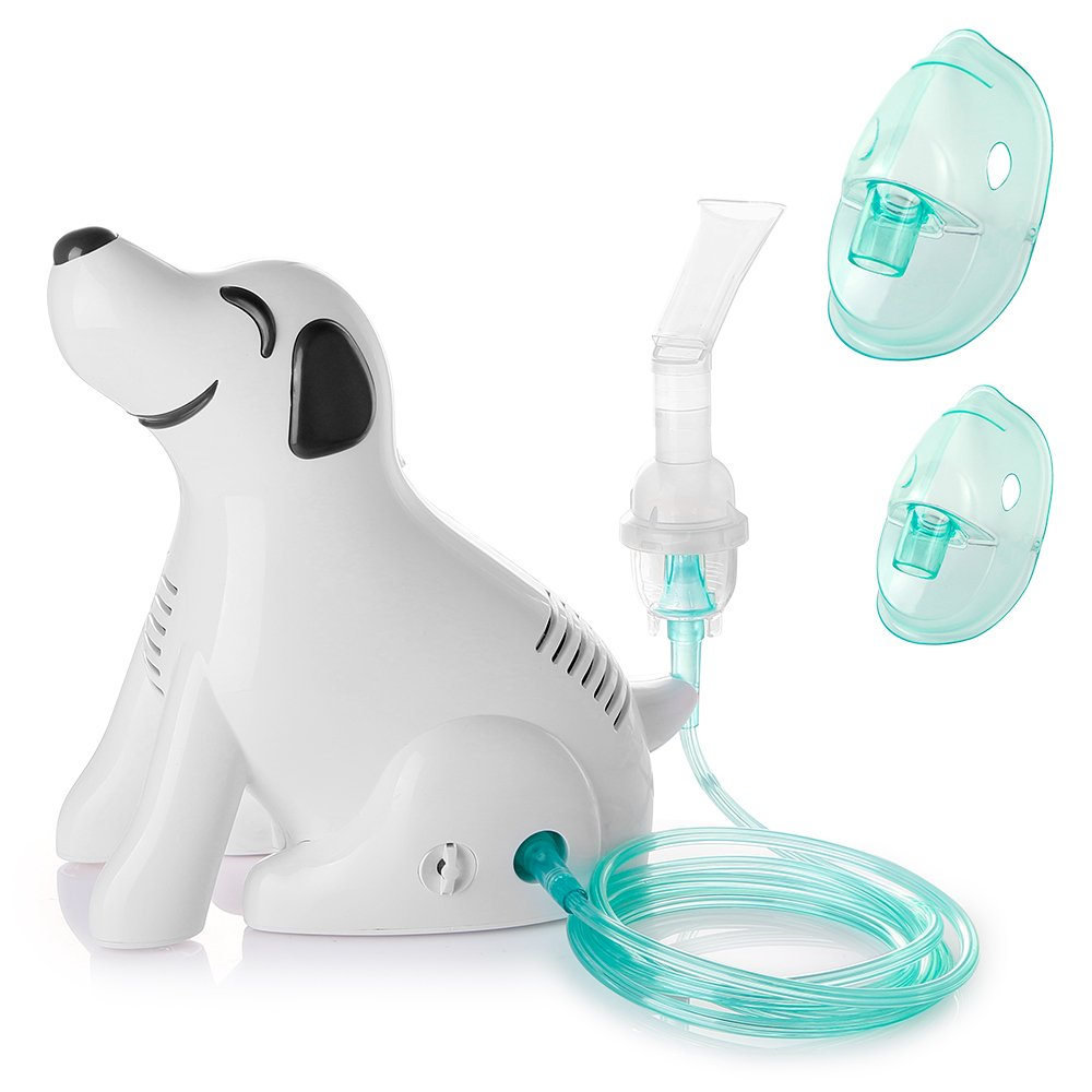 RoyAroma Personal Cool Mist Inhaler Compressor System for Child Adult