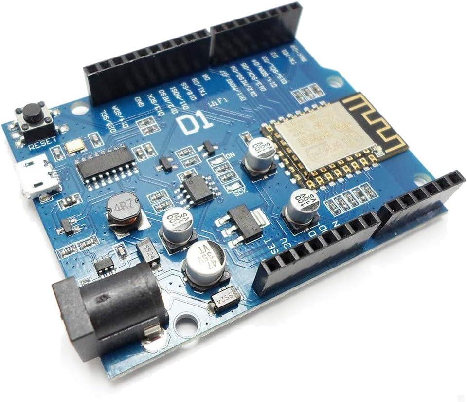 HiLetgo OTA WeMos D1 CH340 WiFi Development Board ESP8266 ESP-12F For Arduino IDE UNO R3